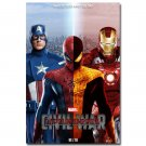Captain America 3 Poster Movie Art Print Spider Man Iron Man 32x24