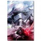 Star Wars 7 Force Awakens Movie Art Poster Kylo Ren 32x24