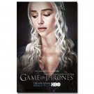 Game Of Thrones Season 5 TV Series Art Poster Daenerys Emilia Clarke 32x24