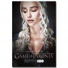 Game Of Thrones Season 5 TV Series Art Poster Daenerys Emilia Clarke 32x24