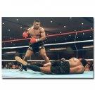 Mike Tyson Boxing Boxer Vintage Art Poster 32x24