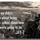 JAY Z Hip Hop Singer Poster Print Living Room Decor 32x24
