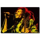 Bob Marley Art Wall Poster Print Music Bedroom Wall Decor 32x24