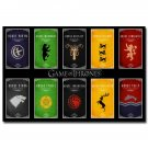 Game Of Thrones Season 5 TV Series Poster A Song Of Ice And Fire 32x24
