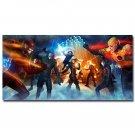 The Flash Vs Arrow TV Series Art Wall Poster 32x24