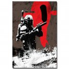 Star Wars 7 The Force Awakens Movie Poster Boba 32x24