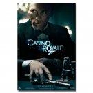 James Bond Casino Royale Spy Shooting Movie Art Poster 32x24