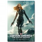 Captain America 2 Black Widow Movie Art Wall Poster 32x24