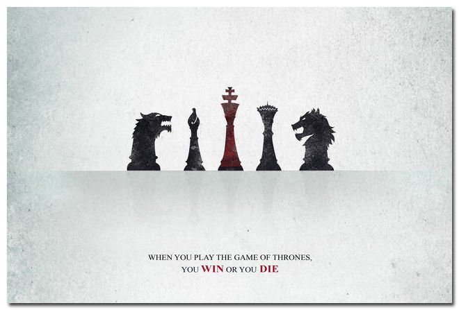 Game Of Thrones Season 5 TV Series Art Poster 32x24