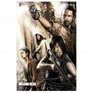 The Walking Dead Season 4 TV Show Art Poster Daryl 32x24
