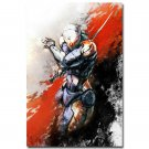 Metal Gear Solid 5 Game Art Poster Gray Fox 32x24