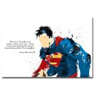 Superman Superhero Motivational Quote Poster 32x24