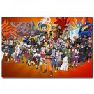 Naruto Shippuden Anime Art Poster Print 32x24