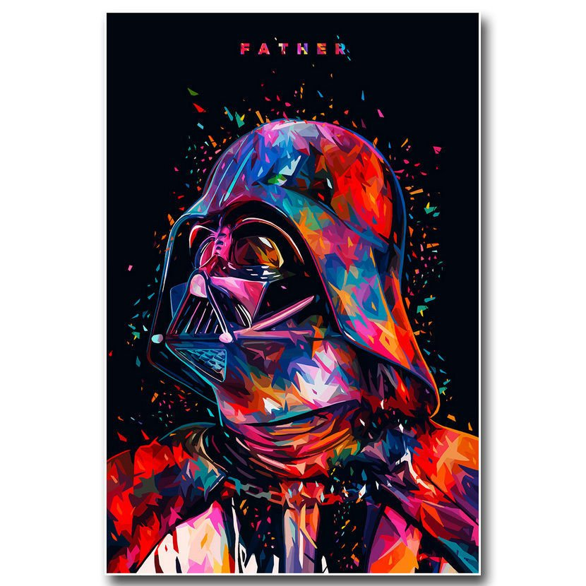 Star Wars 7 The Force Awakens Movie Poster Darth Vader 32x24