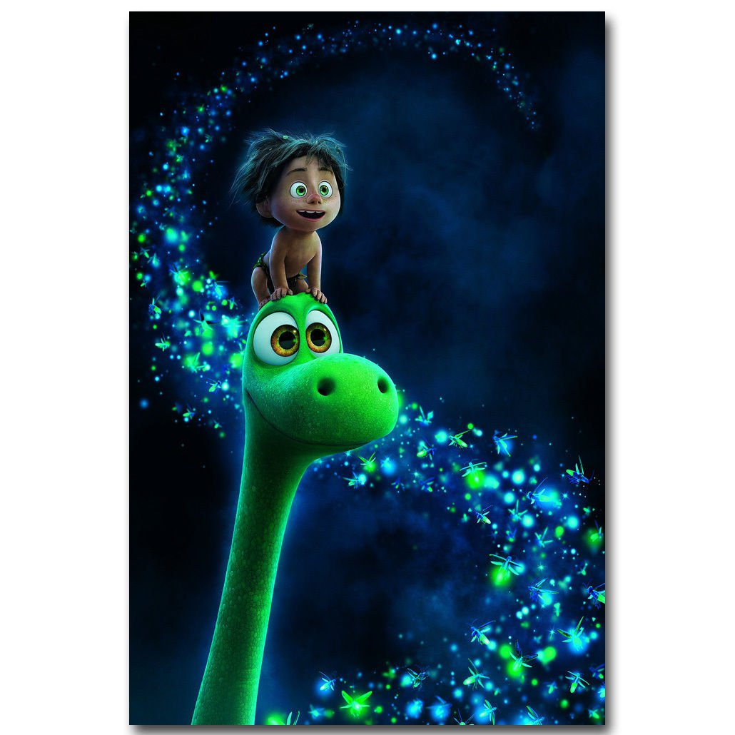 The Good Dinosaur Cartoon Film Poster 32x24