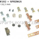 DC182 Contact Kit Replacement For DC182 bidirectional Contactor