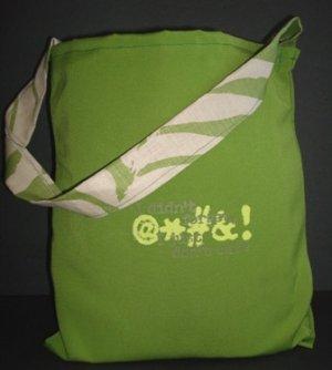 018-Logo Tote-Green