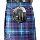 New active Handmade Scottish Highlander kilt for Men in pride of Scottland size56coloure Purple