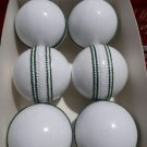 New White league special match quality leather cricket balls pack of 6 for 50 over