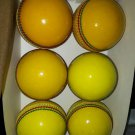 New Indoore Conforming to MCC Regulation leather cricket balls pack of 6 Match quality balls