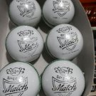 New White Skipper 156 GM Conforming to MCC Regulation leather cricket balls pack of 6 for 30 overs