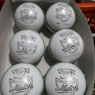 New White special Match 156 GM MCC Regulation leather cricket balls pack of 6 for 30 overs
