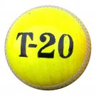 New Green T20  156 GM MCC Regulation leather cricket balls pack of 6