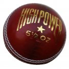 New Red High Power  156 GM MCC Regulation leather cricket balls pack of 6 for match quality