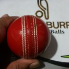 New Red Alum  156 GM 5 1/2 Oz leather cricket balls pack of 6 for Test Match High Performance