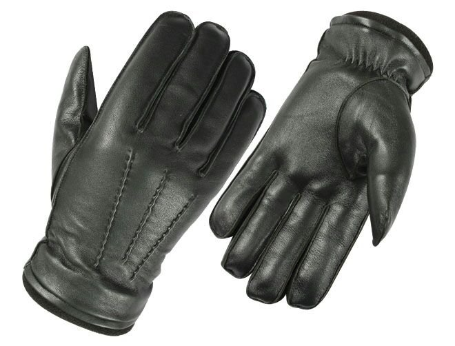 DC 005 REAL GOAT SKIN LEATHER DRIVING FASHION DRESS GLOVES SOFT & TOP QUALITY BLACK SIZE xl