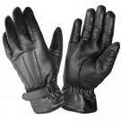 DC 004 REAL GOAT SKIN LEATHER DRIVING FASHION DRESS GLOVES SOFT & TOP QUALITY BLACK SIZE L