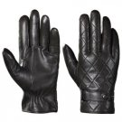 DC 001 REAL GOAT SKIN LEATHER DRIVING FASHION DRESS GLOVES SOFT & TOP QUALITY BLACK SIZE M