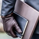 NEW DC 009 MEN CLASSIC BROWN FASHION DRIVING GLOVES SIZE 2XL
