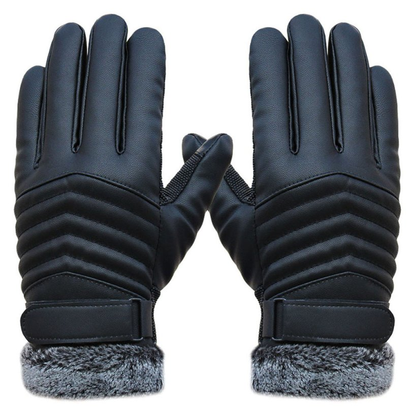 New DC ld27 Ladies  Black Lamb Skin Leather Fashion Driving Gloves Size 2xl