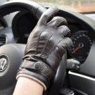 New DC b49 Genuine Lambskin Leather Comfort Driving Fashion Soft Lining size l