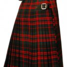 Scottish Handmade McDonald Traditional Tartan Men kilt Size 32