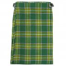 New Active Men Scottish Heritage Highlander Handmade Irish National Kilt Size 38