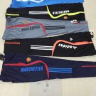 Men's Adidas Manchester Football Soccer Training Pants Sport Gym Athletic Casual Trousers size xl