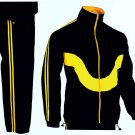 Men Sports Tracksuit Gym Jogging Running Zipper Trouser Upper Casual Jogging Size l