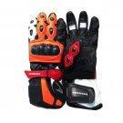 New Honda Repsol Moto GP Sports Motorbike Racing Leather Gloves Size M