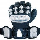 Motorcycle Alloy steel Protective Racing Sport Gloves Size L