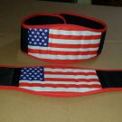 Body fitness gym training customize embas belt size s color red black