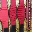 Neoprene Body fitness gym training customize embas belt size m color red black