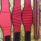 Neoprene Body fitness gym training customize embas belt size l color red black