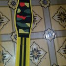 sublimation printing Body fitness gym training weight lifting belt size l color yellow
