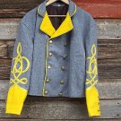 Scottish Highlander Men Military Piper Drummer Doublet Tunic Pipe Band Jacket Size S