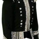 Scottish Highlander Dress To Impress Men Military Piper Drummer Doublet Pipe Band Jacket Size S
