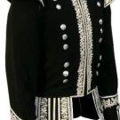 Scottish Highlander Dress To Impress Men Military Piper Drummer Doublet Pipe Band Jacket Size XL