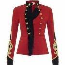 New Scottish Highlander Active Men Fashion Dress To Impress Doublet Jacket Size L Color Red
