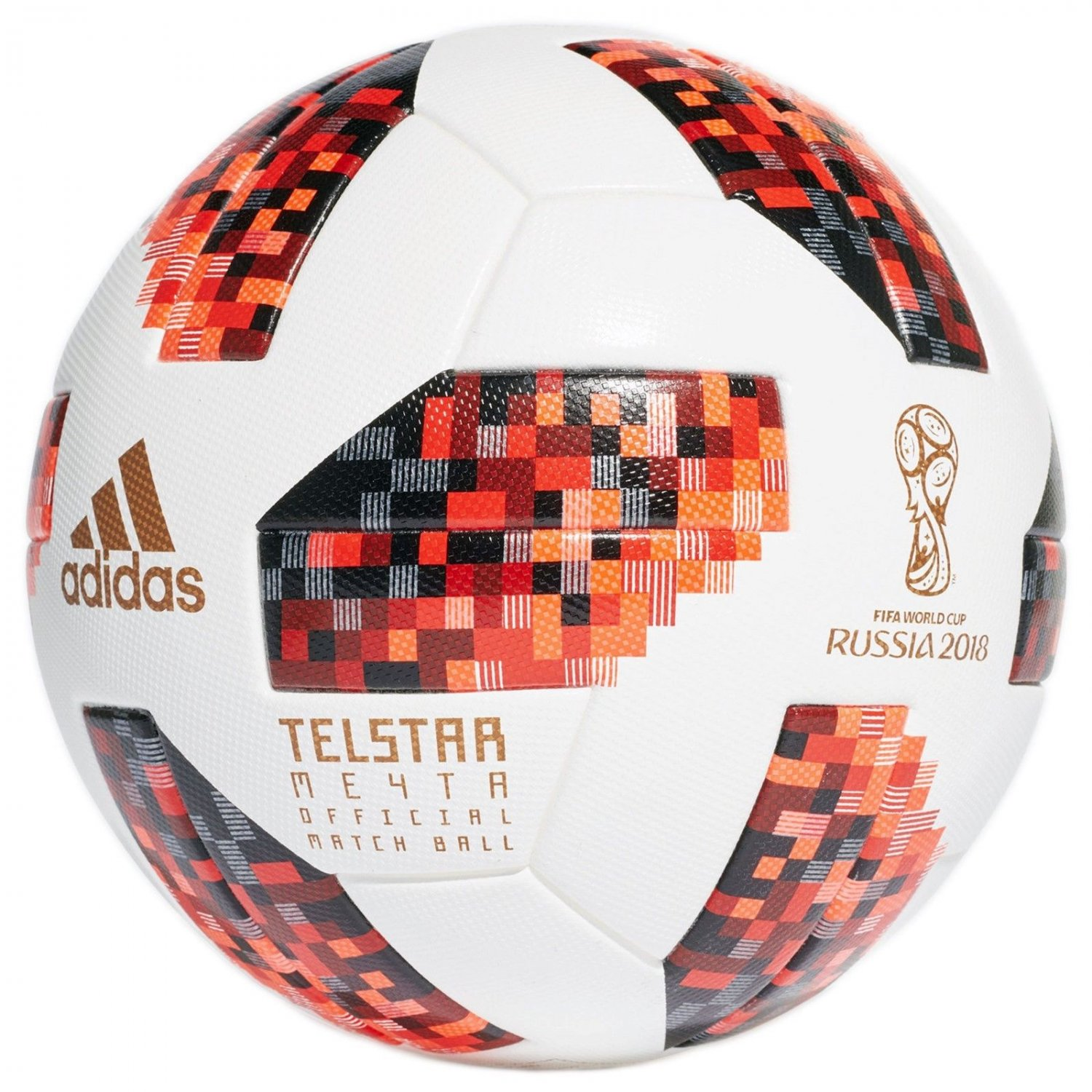 Adidas Official Ball Of FIFA World Cup 2018 Telstar 18 Russia Size 5 Red And White